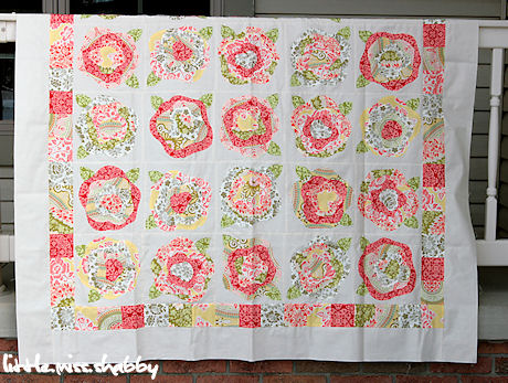 French Roses Quilt Top Finished Coriander Quilts Delectable Rose Quilt Pattern