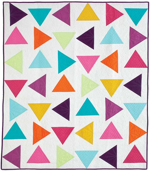 I m in McCall s Quilting! Triangle Toss Quilt Coriander Quilts