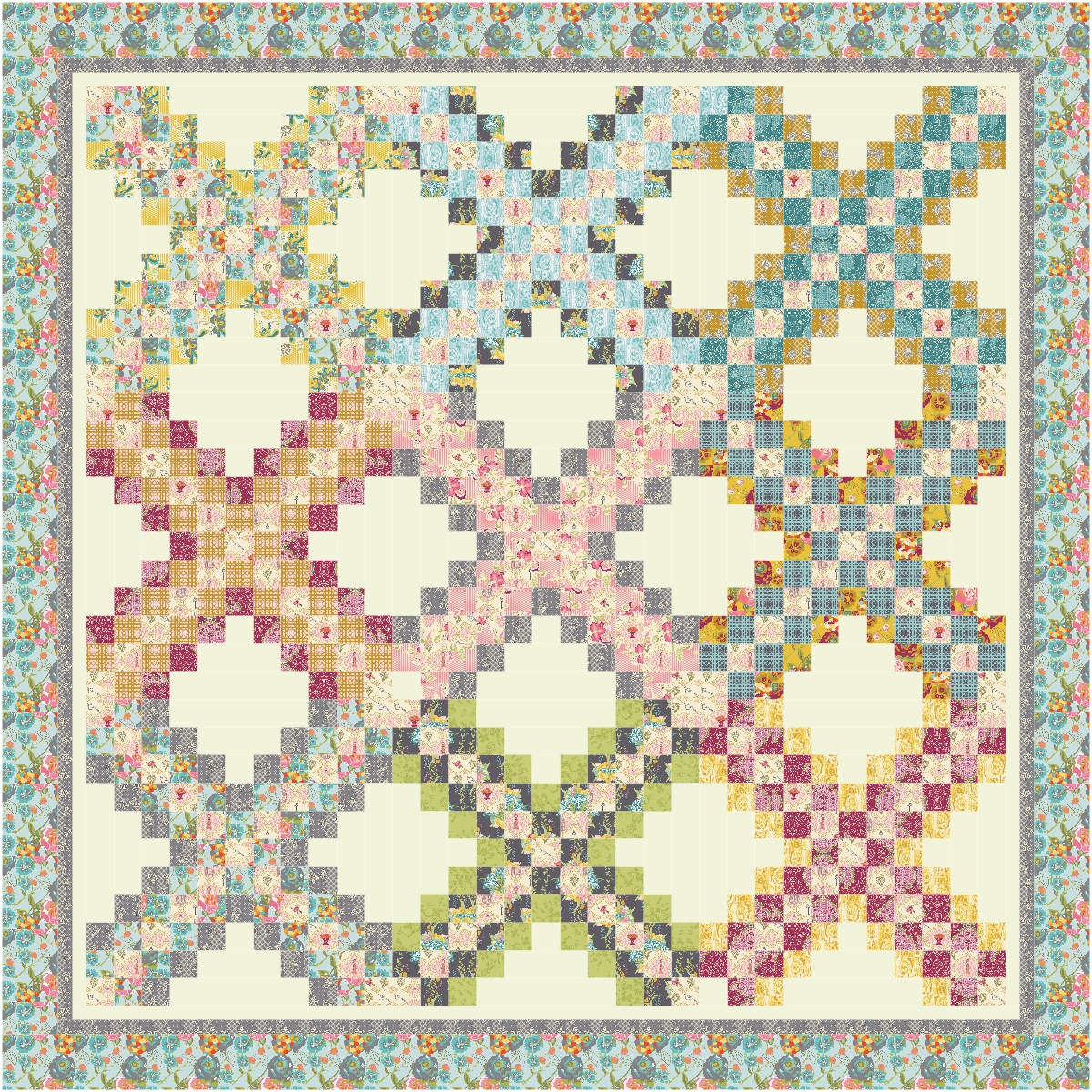 Irish Chain Quilt Pattern Magnificent Design Inspiration