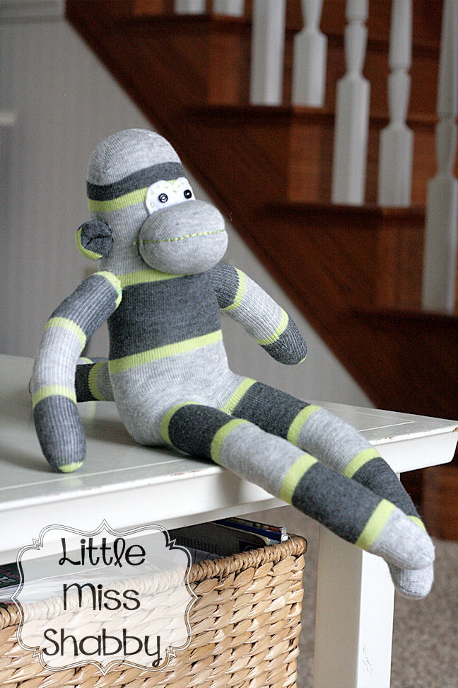 Norman The Sock Monkey Coriander Quilts