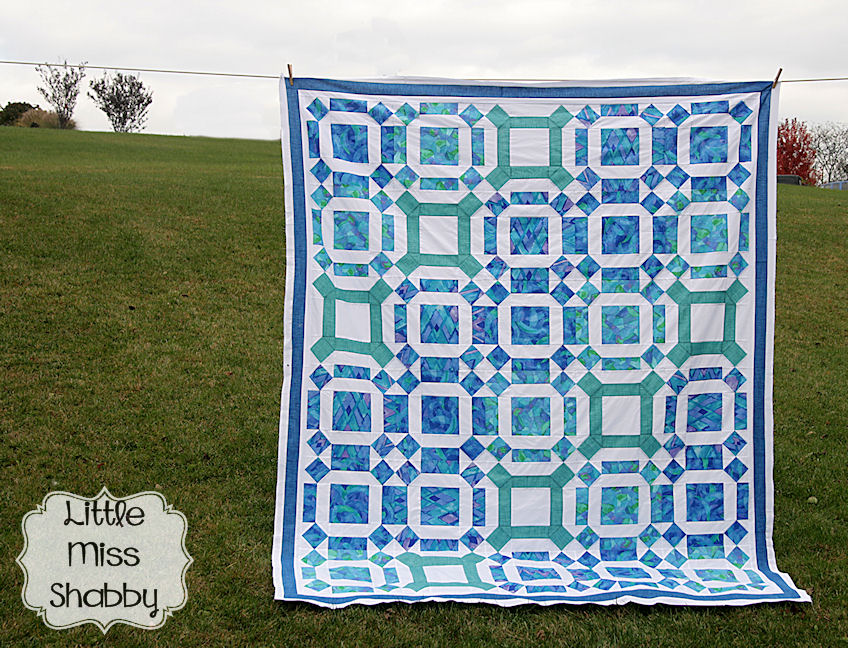 Water Wheels Quilt Pattern by Corey Yoder