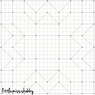 Quilty Stitches Block 13
