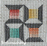 Quilty Stitches Block 15