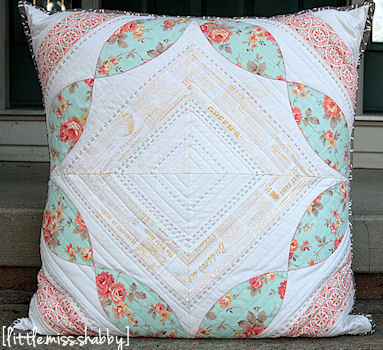 Petal Path Pillow