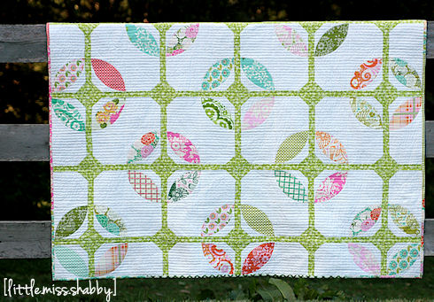 Tiled Blooms Quilt