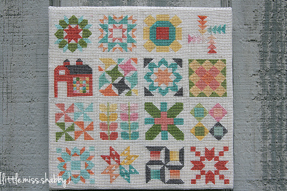 Quilty Stitches Sampler Copy