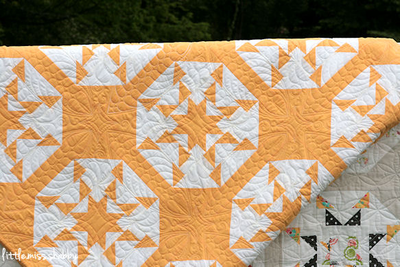 Idyllic Yellow Quilting
