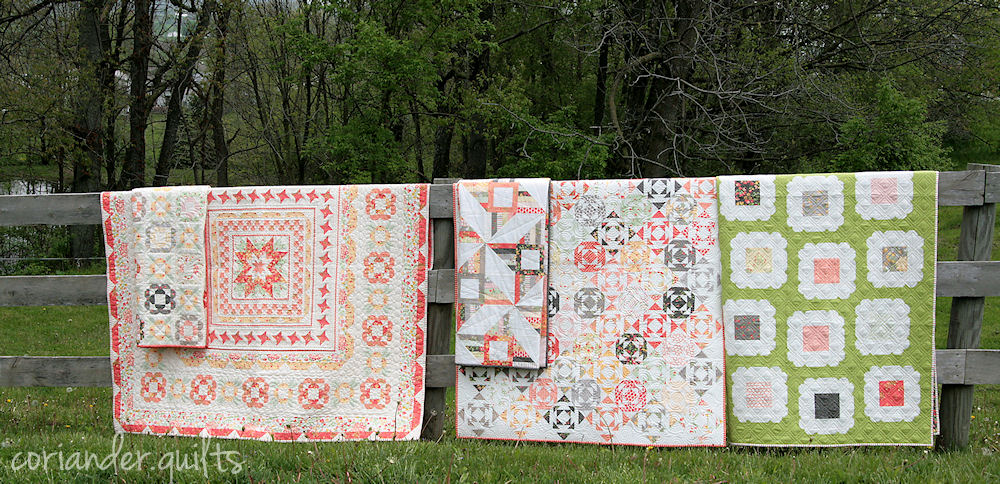 Sundrops Fabric New Patterns Coriander Quilts