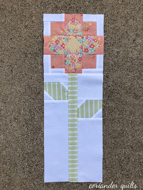 Patchwork Flower Quilt Block