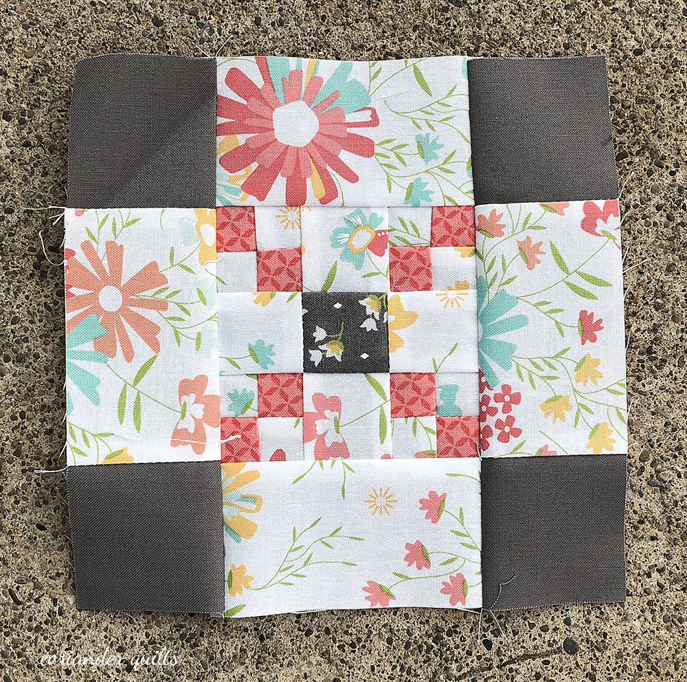 Last Blockheads Quilt Block & finished quilt
