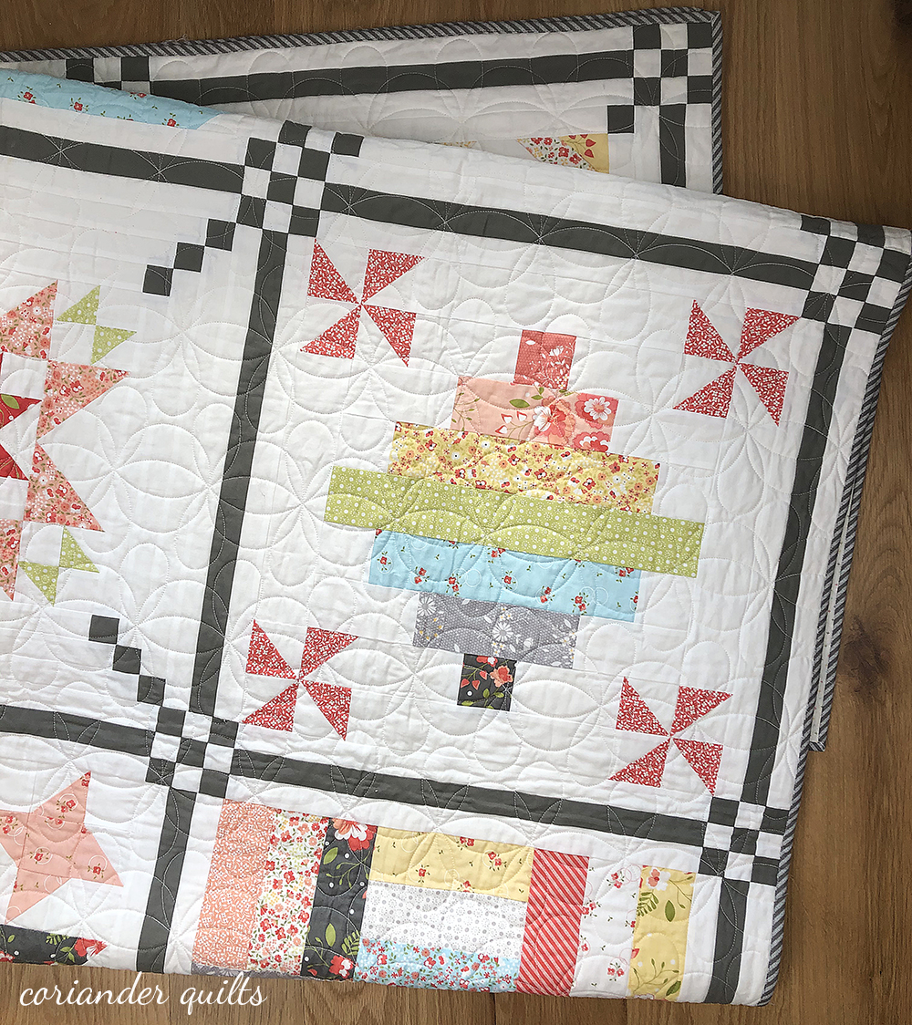 Sunday Best Quilts Sampler Block 7